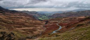 Lake District Valley by davidsant