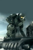 Master Chief 01 by shadowtek