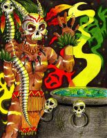 .::Witch Doctor::. by Manicfool