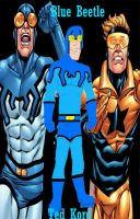 Blue Beetle-Ted Kord by hpWiz
