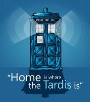 Tardis is my home by AlexRoivas