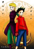 Jake and Rose - Are you ready? by Eva-Dudu