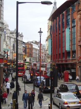 picadilly street view stock by kitten-Red