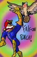 FALCON PUNCH! by rayqyazarules