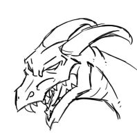 Tablet Test :Dragon Head: by Phycosmiley