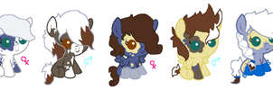 babies for Thenerdysinger ~closed~ by Goldenecho