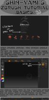 Zbrush tutorial - BASICS by Shin-Yami