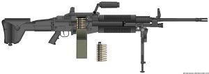 PMG- M280 MAS rifle by WMDiscovery93