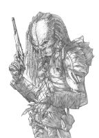 Elder Predator - Pencils by jpc-art