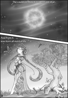 Sailor Moon - Doujinshi Prologue pg 3 by Parue