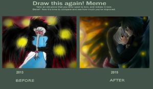 Howls Moving Castle: Howl And Sophie ReDrawn 2015 by Imaginary2095