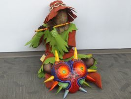 Majoras mask skull kid by milozilla