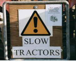 Slow Tractors by sadisticwench