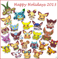 Happy Holidays 2013 by pichu90