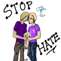 Stop the Hate -For Purple Day- by LifeAmongstTheFreaks