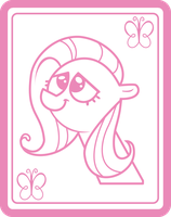 Pinkie's Fluttershy Drawing - Vector by littlecolt