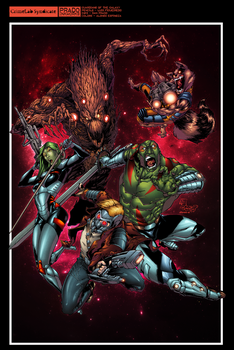 Guardians Of The Galaxy by AlonsoEspinoza