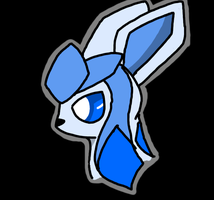 Glaceon by Charon-Gargoyle