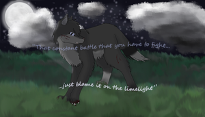 ''The constant battle that you have to fight'' by xXStormWingXx