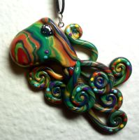 Octopus on Acid Charm by BlackMagdalena