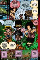 One Piece manga 585 by Tio-san