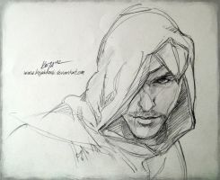 Altair Sketch by KejaBlank