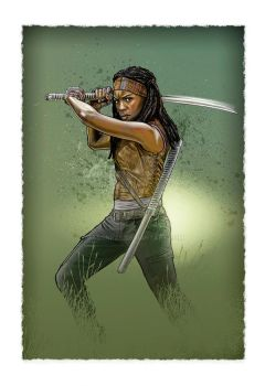 Michonne by jasonpal