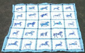True Blue Quilt by carouselfan