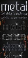 Metal - Text Styles by ivelt