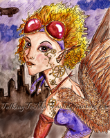 Steampunk Aviator by TalkingToMySoul