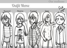 outfit meme - Michael by andruxtarsic