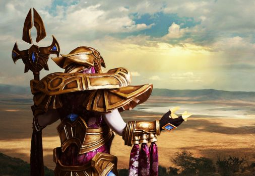 Azir Emperor of the Sands by shinigami714