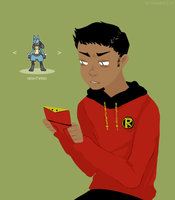 damian angrily plays pokemon by notdamian