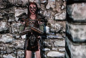 Aela stoic by swept-wing-racer