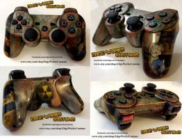 Fallout PS3 Custom Controller by Edge-Works