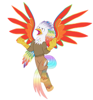 Rainbow Power Silver Quill by MLP-Silver-Quill