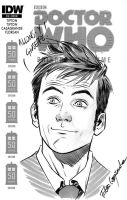 Doctor Who blank cover - Doctor by elena-casagrande