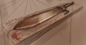 Sword of blood by Ranivius