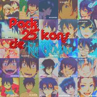 Rin Okumura Pack 25 Icons by MikuuChaan