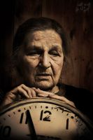 grandmother and time by dkomov