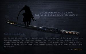 Soldier of Imam Mahdi a.s by webdziner