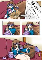 Mana BE Comic Page 03 colored by Anubis2Pabon288