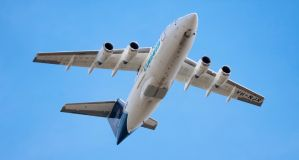 Cargo Jet fly over by RaynePhotography