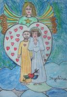 Angel of love everlasting by ingeline-art
