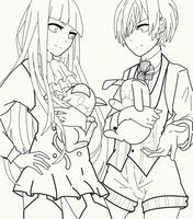 Lineart Request by Chiinyan