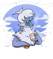 #546 Snowdots by Alise-chan-oWo
