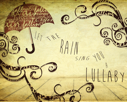Let the rain sing you a lullaby by Parabol-BK