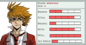 Arteon Stat Card by Allenwalker14