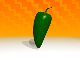 Jalapeno for Dancing Taco by artislight