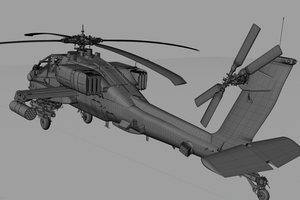 AH 64 Longbow by Packe777